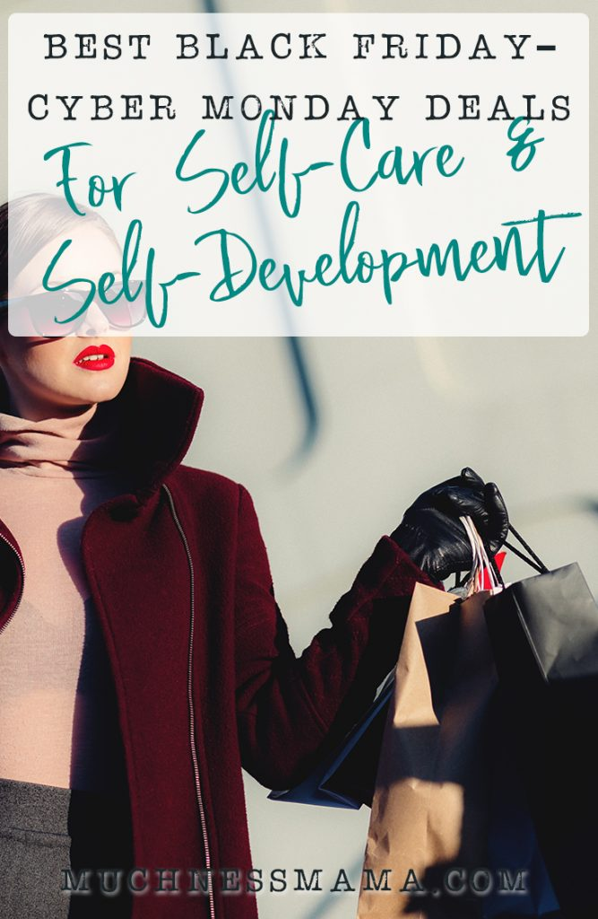 Best Black Friday Deals for Self-Care and Self-Development