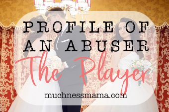 Profile of an abuser- The Player | MuchnessMama.com
